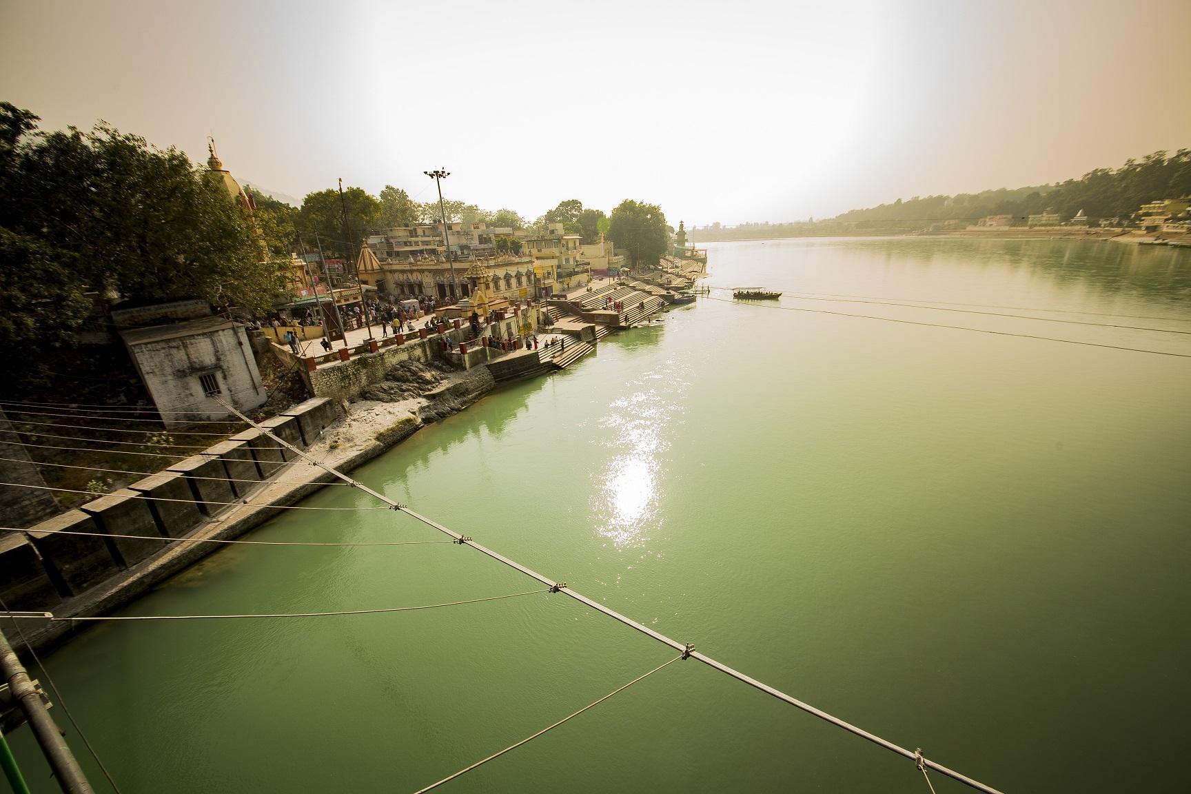 Allí, donde nace el Ganges
